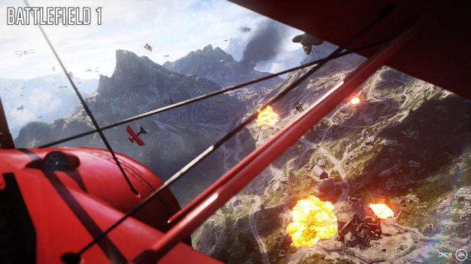 battlefield 1 planes